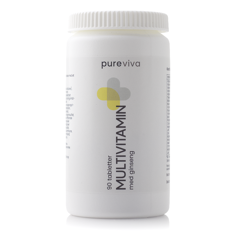Image of   Pureviva Multivitamin (90 kap)