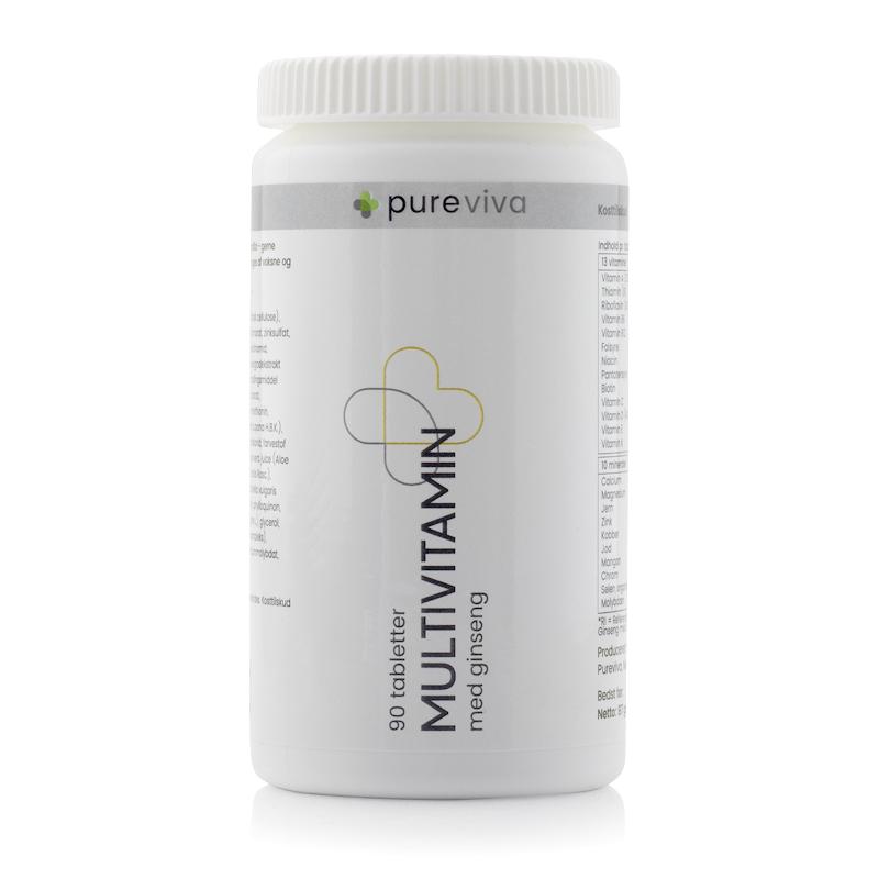 Image of   Pureviva Multivitamin (90 kap)