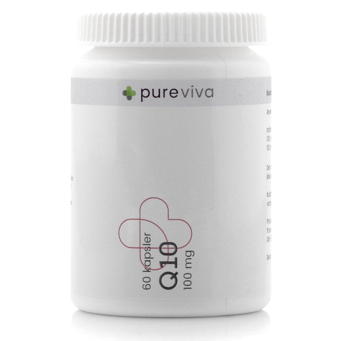 Image of   Pureviva Q10 100 mg (60 kap)