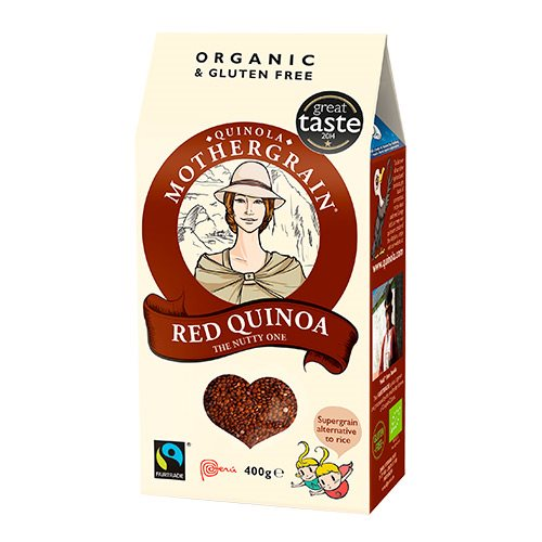 Image of Quinoa rød Økologisk - 400 gram