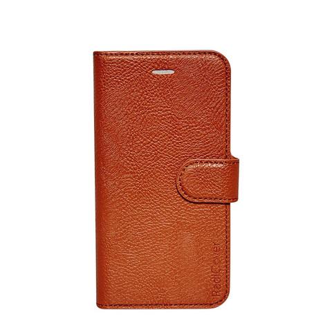 Image of Mobilcover PU Iphone6 cognacbrun flipside Radicovr