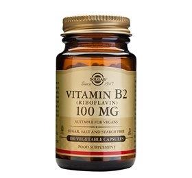 Image of   Solgar Riboflavin Vitamin B2 100 mg (100 kaps)