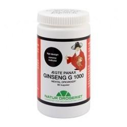 Ginseng Panax G1000 - 100 kapsler