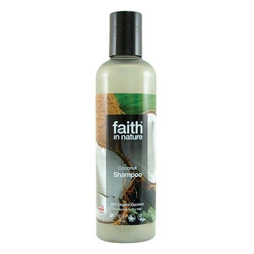 Shampoo kokos Faith in nature - 250 ml.
