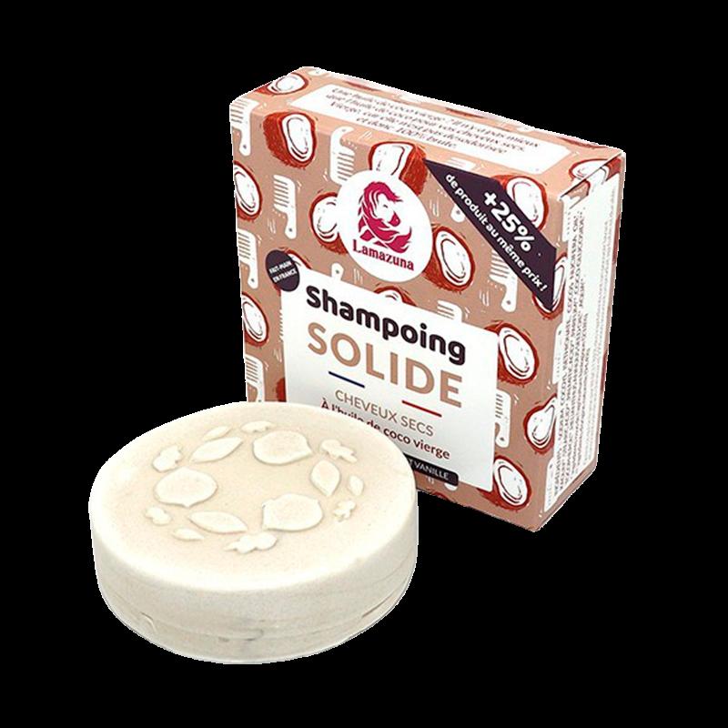 Shampoobar til Tørt Hår Kokos/Vanilje (55 g)