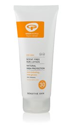 Green People Sun lotion SPF 30 Scent Free - 100 ml