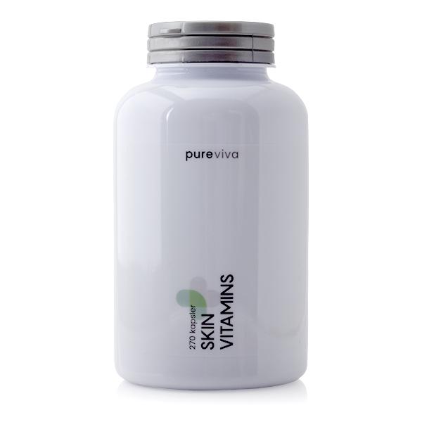 Billede af Pureviva Skin Vitamins (270 kap)