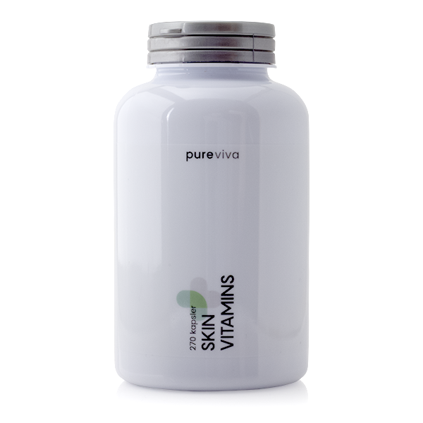 Image of   Pureviva Skin Vitamins (270 kap)