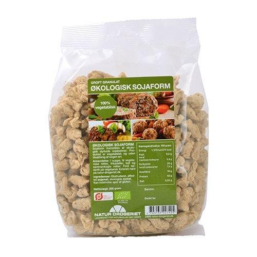 Image of Sojaform granulat grov Økologisk - 200 gram