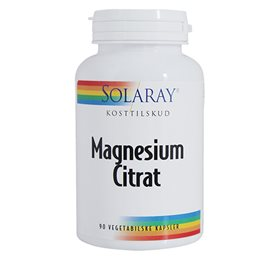 Solaray magnesium fra Netspiren