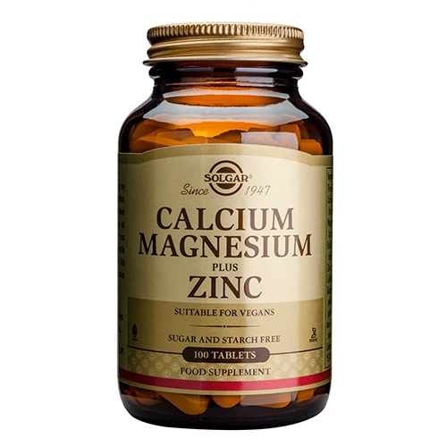Solgar Calcium Magnesium Zink - 100 tabletter