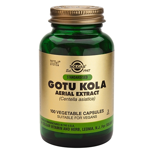 Image of   Gotu Kola fra Solgar - 100 kapsler