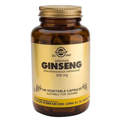 Solgar Ginseng Siberisk 520 mg - 100 kapsler
