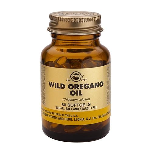 Vild oregano olie fra Solgar - 60 kapsler