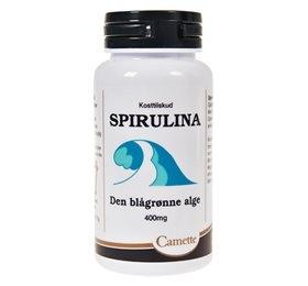 Spirulina Den blågrønne alge - 180 tabletter