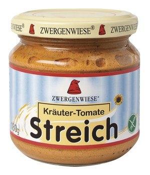 Zwergenwiese Streich Vegetabilsk Smørepålæg Kryddertomat Ø