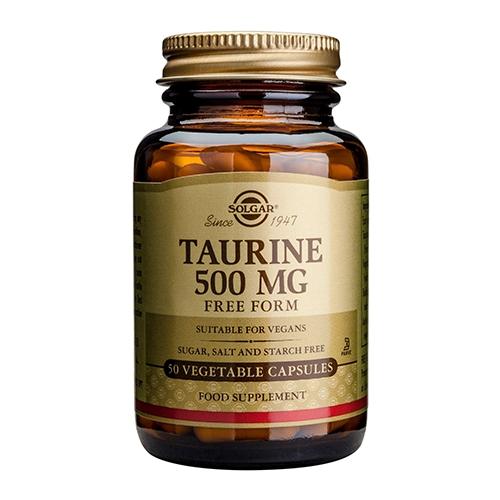 Image of   Taurine 500 mg. fra Solgar - 50 kapsler