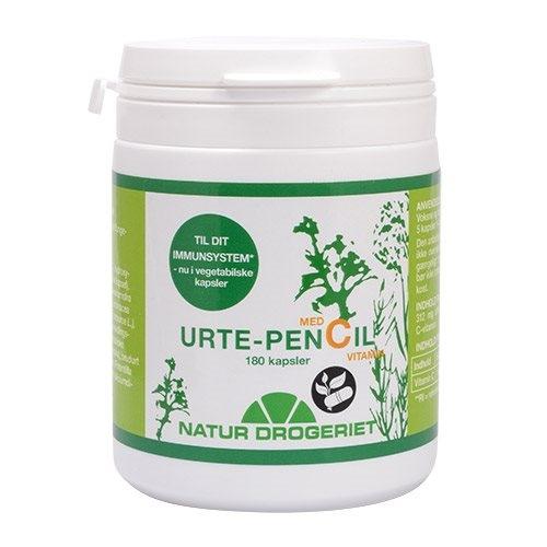 Urte-Pencil med C vitamin - 180 kapsler