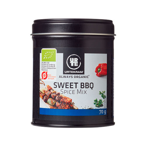 Image of   Urtekram Sweet BBQ Spice Mix Ø (70 g)