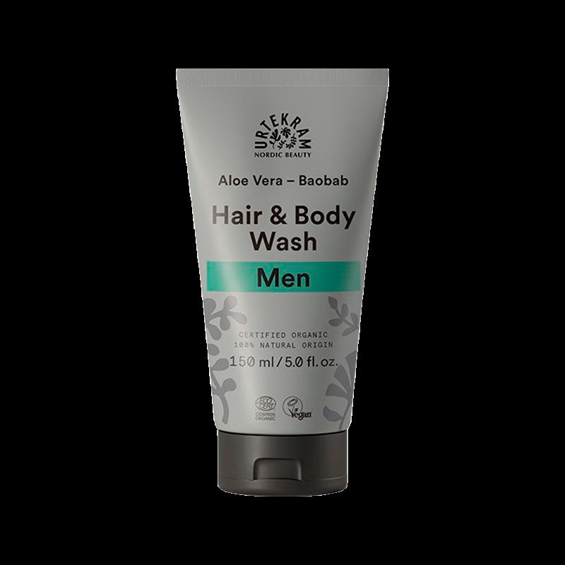 MEN Hair & Bodywash AloeVera & Baobab - 150 ml.