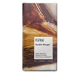 Vivani mørk nougat chokolade Økologisk - 100 g
