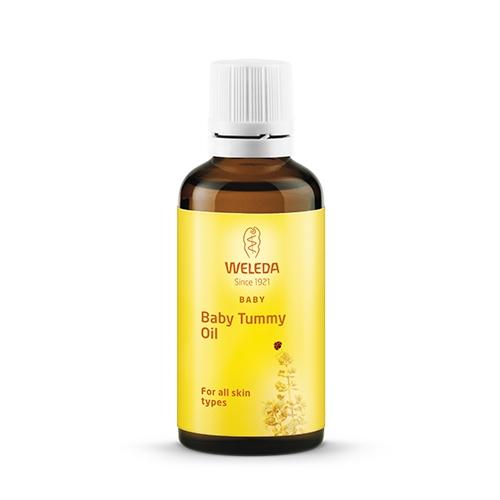 Baby Tummy Oil fra Weleda - 50 ml.