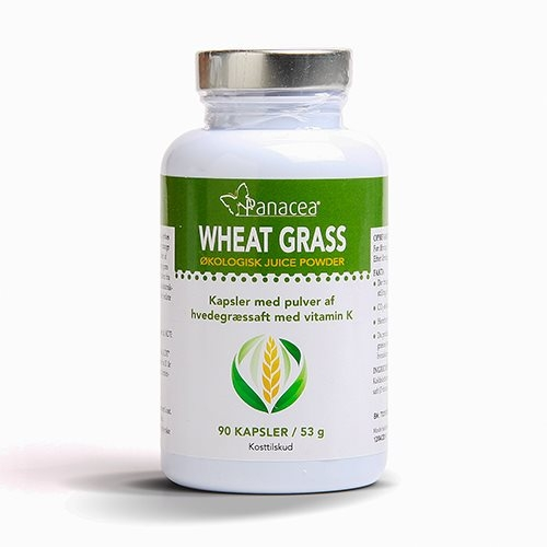 Wheat Grass Raw Food - 90 kapsler