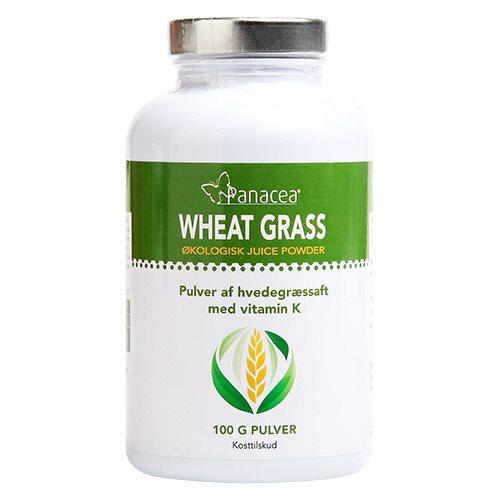 Wheat Grass Juice Powder  Raw Food Øko - 100 gram