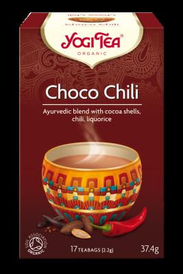 Yogi Tea Choco Chili Økologisk - 17 breve