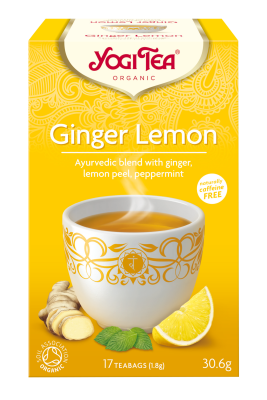Yogi Te Ginger Lemon - 15 breve