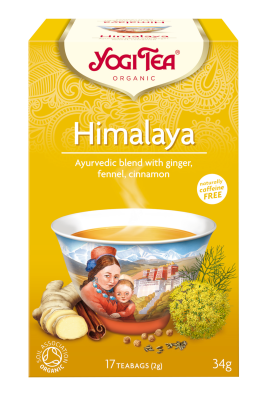 Yogi Te Himalaya - 15 breve