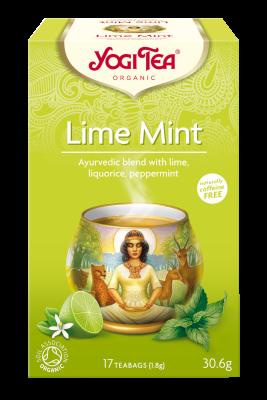 Yogi te Lime mint Økologisk - 15 breve